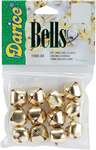"Gold - Jingle Bells .625"" 12/Pkg"