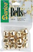 "Gold - Jingle Bells .625"" 12/Pkg"
