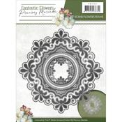 Round Flowers Frame - Find It Trading Precious Marieke Fantastic Flowers Die