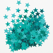 Teal Stars - Fun Confetti .5oz