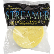 "Primrose Yellow - Crepe Streamers 1.75""X81'"