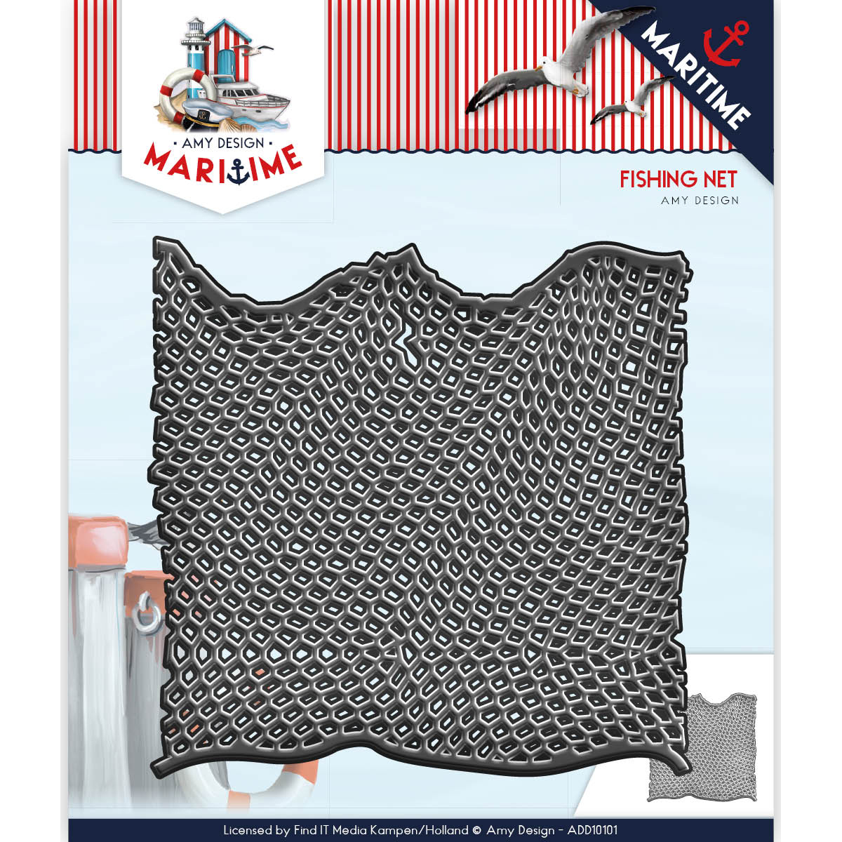 Fishing Net - Find It Trading Amy Design Maritime Die