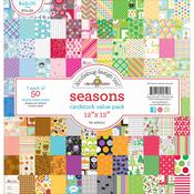 Seasons - Doodlebug Value Kit Cardstock Paper Pack
