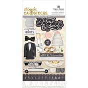 To Have & To Hold - Paper House Sticky Pix Cardstock Multi Pack 5/Pkg