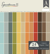Spectrum II - 12 x 12 Paper Pad - Authentique