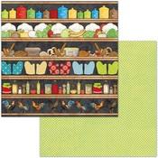 Pantry Paper - Family Recipes - Bo Bunny