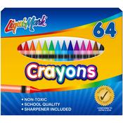 Liqui-Mark Crayons 64/Pkg