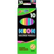 Neon - Liqui-Mark Colored Pencils 10/Pkg