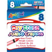 Liqui-Mark Jumbo Dry-Erase Crayons 8/Pkg