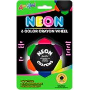 Neon - Liqui-Mark Crayon Wheel 6 Colors