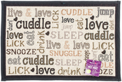 "Cuddle - PetRageous Designs Tapestry Placemat 19""X13"""