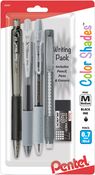 Black - Pentel Color Shades Writing Pack 4/Pkg