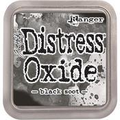 Black Soot Distress Oxides Ink Pad - Tim Holtz -
