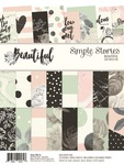 Beautiful 6 x 8 Paper Pad - Simple Stories - PRE ORDER