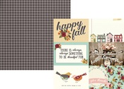 4 x 6 Horizontal Element Paper - Vintage Blessings - Simple Stories
