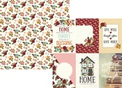 4 x 6 Vertical Element Paper - Vintage Blessings - Simple Stories