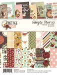 Vintage Blessings 6 x 8 Paper Pad - Simple Stories - PRE ORDER
