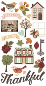 Vintage Blessings Chipboard Stickers - Simple Stories