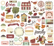 Vintage Blessings Bits & Pieces - Simple Stories