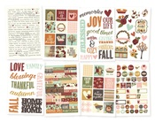 Vintage Blessings Sticker Sheets - Simple Stories