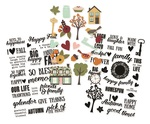 Vintage Blessings Clear Sticker Sheets - Simple Stories