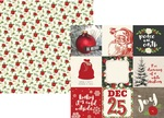 4 x 4 Element Paper - Very Merry - Simple Stories