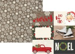 4 x 6 Horizontal Element Paper - Very Merry - Simple Stories - PRE ORDER
