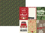 4 x 6 Vertical Element Paper - Very Merry - Simple Stories - PRE ORDER