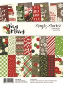 Very Merry 6 x 8 Paper Pad - Simple Stories