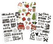 Very Merry Clear Stickers - Simple Stories