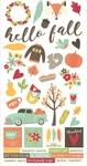 Happy Harvest 6 x 12 Sticker Sheet - Simple Stories