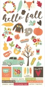 Happy Harvest 6 x 12 Sticker Sheet - Simple Stories