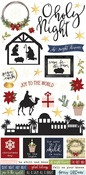 O Holy Night 6 x 12 Sticker Sheet - Simple Stories