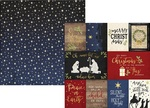 3 x 4 & 4 x 6 Journaling Foil Paper - O Holy Night - Simple Stories - PRE ORDER