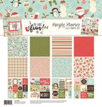 Oh What Fun Collection Kit - Simple Stories - PRE ORDER