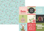4 x 4 Element Paper - Oh What Fun - Simple Stories - PRE ORDER