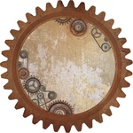 Cog & Pulleys Die-cut Paper - Factory 42 - KaiserCraft