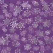 Gilded Snowflakes Foil Paper - Christmas Jewel - KaiserCraft