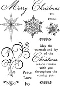 Christmas Jewel Clear Stamps - KaiserCraft