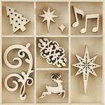 Fancy Christmas Wood Flourishes - KaiserCraft