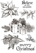Christmas Edition Clear Stamps - KaiserCraft