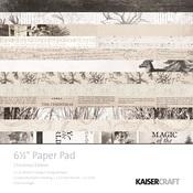 Christmas Edition 6 x 6 Paper Pad - KaiserCraft