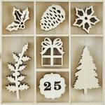 Traditional Christmas Wooden Flourishes - KaiserCraft - PRE ORDER