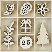 Traditional Christmas Wooden Flourishes - KaiserCraft