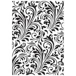 Flourish Embossing Folder - KaiserCraft
