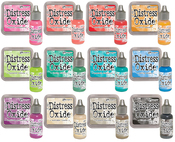Tim Holtz Distress Oxide Ink Pads & Reinkers Bundle