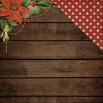 Poinsettia Garland Paper - Letters To Santa - KaiserCraft - PRE ORDER