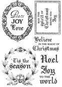 Letters To Santa Clear Stamps - KaiserCraft