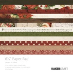Letters To Santa 6.5 x 6.5 Paper Pad - KaiserCraft - PRE ORDER