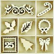 Dear Santa Wooden Flourishes - KaiserCraft